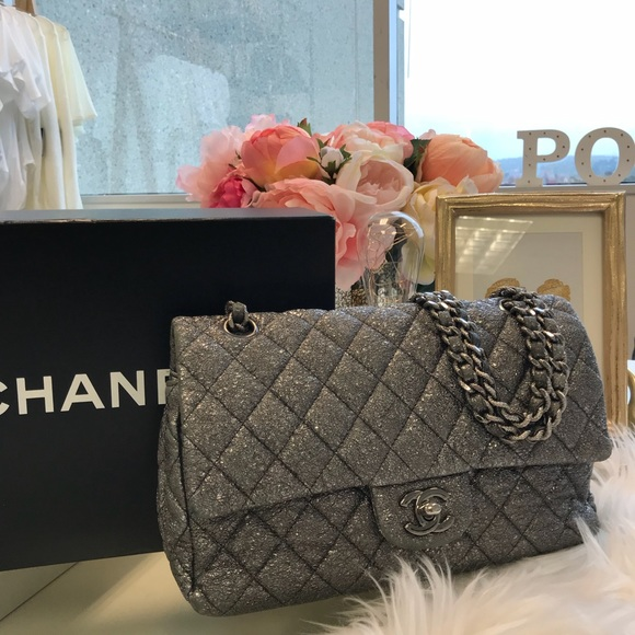 e062ddd16ef CHANEL Bags | Palladium Double Flap Bag | Poshmark